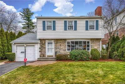 New Rochelle Single Family Home For Sale: 179 Pershing Avenue