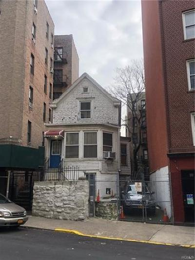 Bronx Residential Lots & Land For Sale: 2098 Creston Avenue