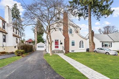 White Plains Single Family Home For Sale: 20 Benedict Avenue