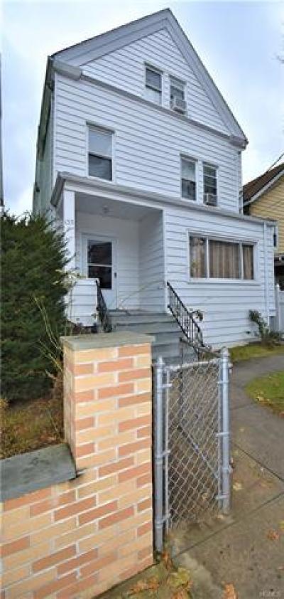 Mount Vernon Multi Family 2-4 For Sale: 133 North 8th Avenue