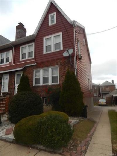 Bronx Single Family Home For Sale: 3155 Valhalla Drive