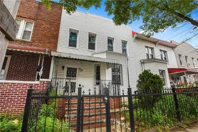Bronx Single Family Home For Sale: 2735 Holland Avenue