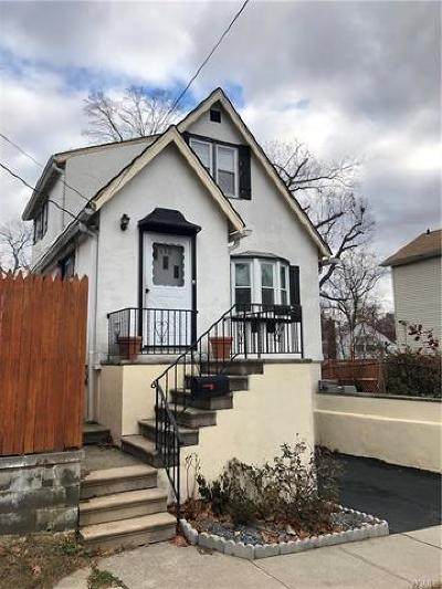 Yonkers Single Family Home For Sale: 190 Hyatt Avenue