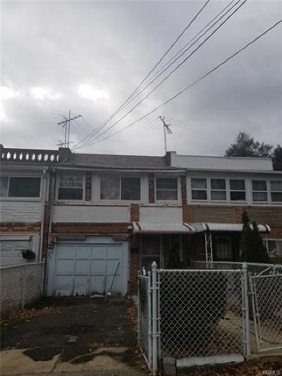 Bronx Single Family Home For Sale: 4157 Edson Avenue