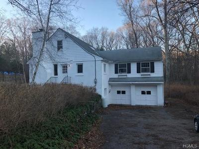 Westchester County Single Family Home For Sale: 18 Short Hill Road