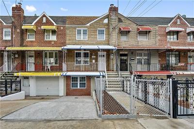Bronx Single Family Home For Sale: 1464 Arnow Avenue
