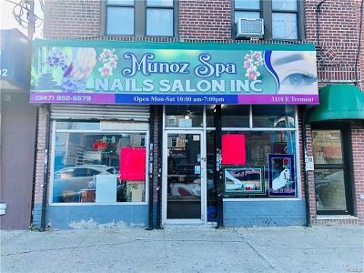 Bronx Commercial For Sale: 3118 East Tremont Avenue