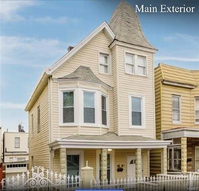 Bronx Single Family Home For Sale: 1837 Wallace Avenue