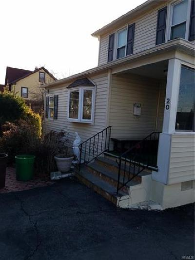 Rockland County Multi Family 2-4 For Sale: 20 Washington Street