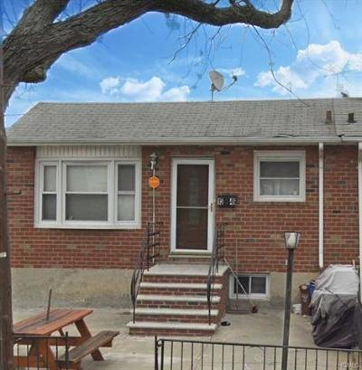 Bronx NY Single Family Home For Sale: $595,000