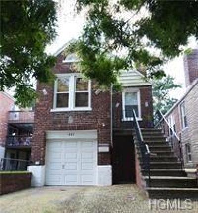 Bronx NY Single Family Home For Sale: $499,000