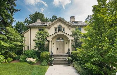 Scarsdale NY Single Family Home For Sale: $2,500,000