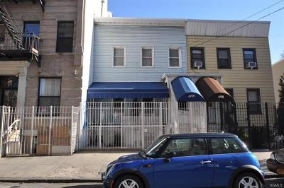 Bronx Single Family Home For Sale: 500 Jackson Avenue