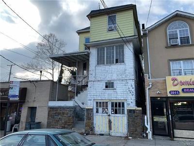 Bronx Multi Family 2-4 For Sale: 3909 Dyre Avenue