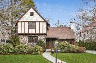 Westchester County Single Family Home For Sale: 84 Valley Road