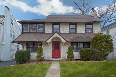 Port Chester Single Family Home For Sale: 80 Perry Avenue