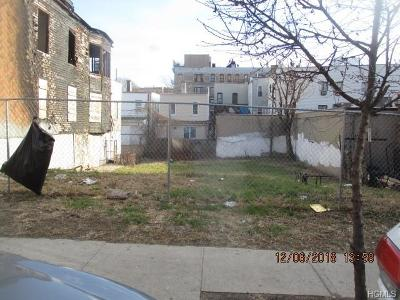 Bronx Residential Lots & Land For Sale: 2860 Valentine Avenue