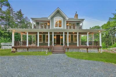 Single Family Home For Sale: 519 Orange Turnpike