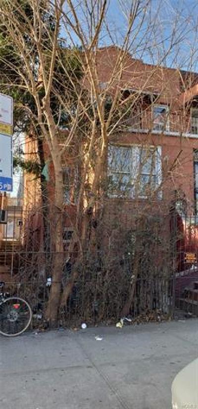 Bronx County Multi Family 2-4 For Sale: 1209 Manor Avenue