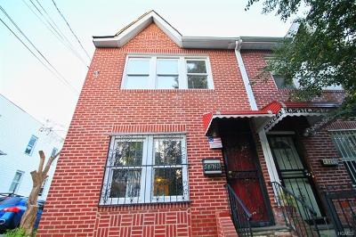 Bronx Single Family Home For Sale: 4328 Wickham Avenue