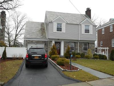 Yonkers Single Family Home For Sale: 36 (Aka) 38 Ritchie Drive