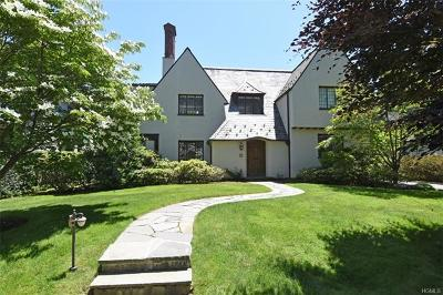 Bronxville Single Family Home For Sale: 38 Elm Rock Road