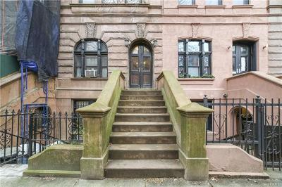 New York Multi Family 2-4 For Sale: 34 West 119th Street