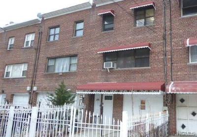 Bronx Single Family Home For Sale: 3717 Barnes Avenue