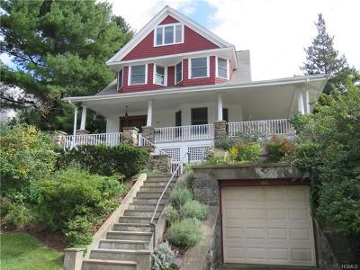 Hastings-On-Hudson Single Family Home For Sale: 100 Euclid Avenue