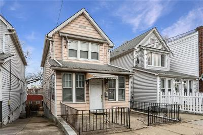 Yonkers Single Family Home For Sale: 54 Sterling Avenue