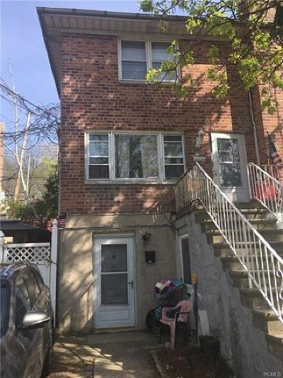 Westchester County Multi Family 2-4 For Sale: 122 Sedgwick Avenue