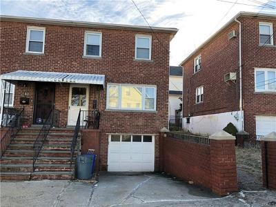 Yonkers Single Family Home For Sale: 38 Wakefield Avenue