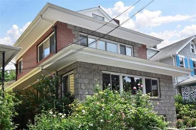 Tarrytown Single Family Home For Sale: 84 Sunnyside Avenue