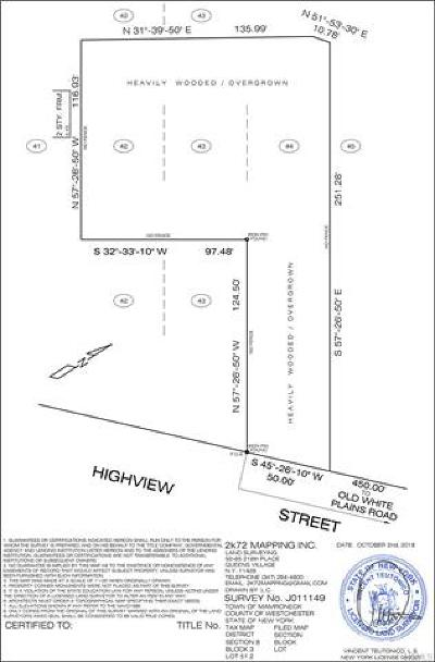Mamaroneck Commercial For Sale: 131 Highview Street