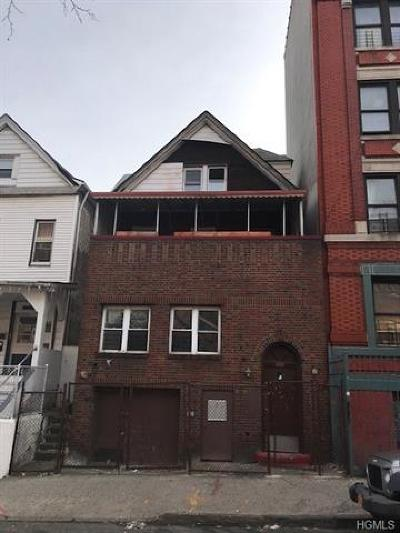 Bronx Multi Family 2-4 For Sale: 1928 Prospect Avenue