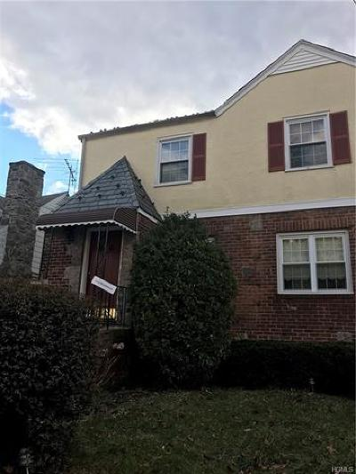 Yonkers Single Family Home For Sale: 78 Kimball Terrace