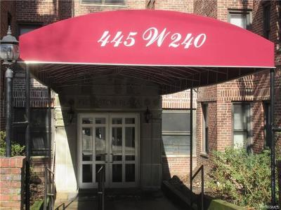 Bronx Condo/Townhouse For Sale: 445 West 240th Street #7-B