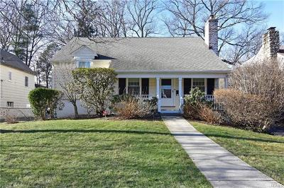 Westchester County Single Family Home For Sale: 44 Rockridge Road
