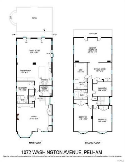 Westchester County Single Family Home For Sale: 1072 Washington Avenue