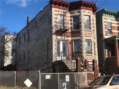 Bronx Multi Family 2-4 For Sale: 1406 Edwards Avenue