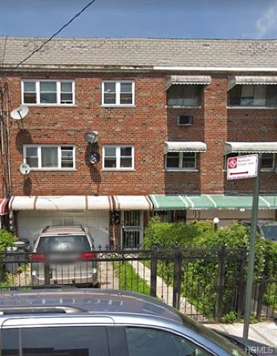 Bronx Multi Family 2-4 For Sale: 821 East 215th Street