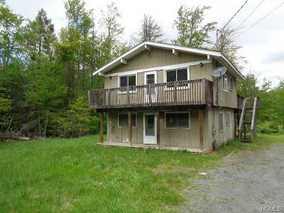 Woodridge NY Single Family Home For Sale: $99,900