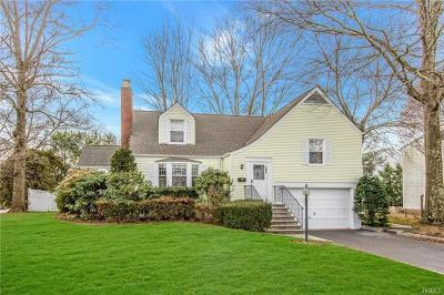 Scarsdale Single Family Home For Sale: 296 Boulevard