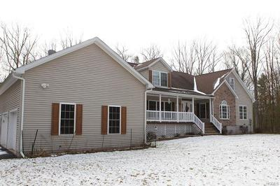 Youngsville, Jeffersonville, Callicoon Single Family Home For Sale: 43 Serenity Drive