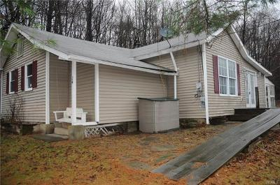 Bloomingburg NY Single Family Home For Sale: $42,000