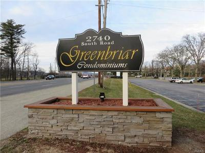 Dutchess County Condo/Townhouse For Sale: 2740 South Rd-B5