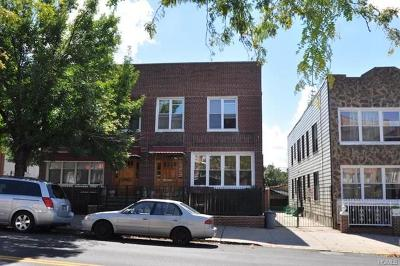 Bronx County Multi Family 2-4 For Sale: 1528 East 172nd Street