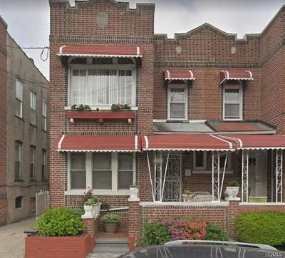 Bronx Multi Family 2-4 For Sale: 3361 Fenton Avenue