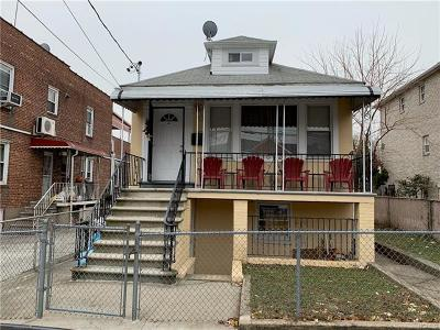 Bronx Multi Family 2-4 For Sale: 755 Calhoun Avenue