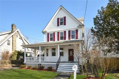 New Rochelle Single Family Home For Sale: 19 Hillside Avenue